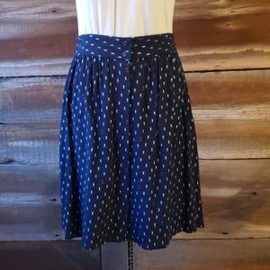 Gap navy print skirt